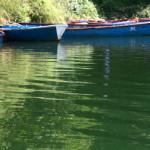 Boats on Lake Pokhara Begnas Lake Kaski