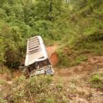 Bus accident in Palpa