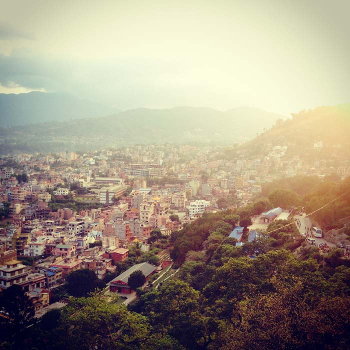 Nature Love Photo taken from Swayambhu top (One of the world Heritage site under UNESCO) (1)