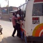 Public bus in Lalitpur 1