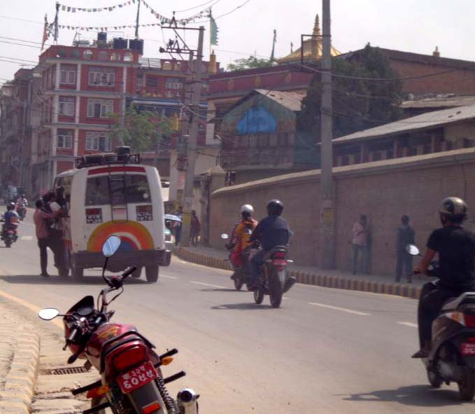 Public bus in Lalitpur 2