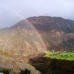 rainbow in Mugu Nepal