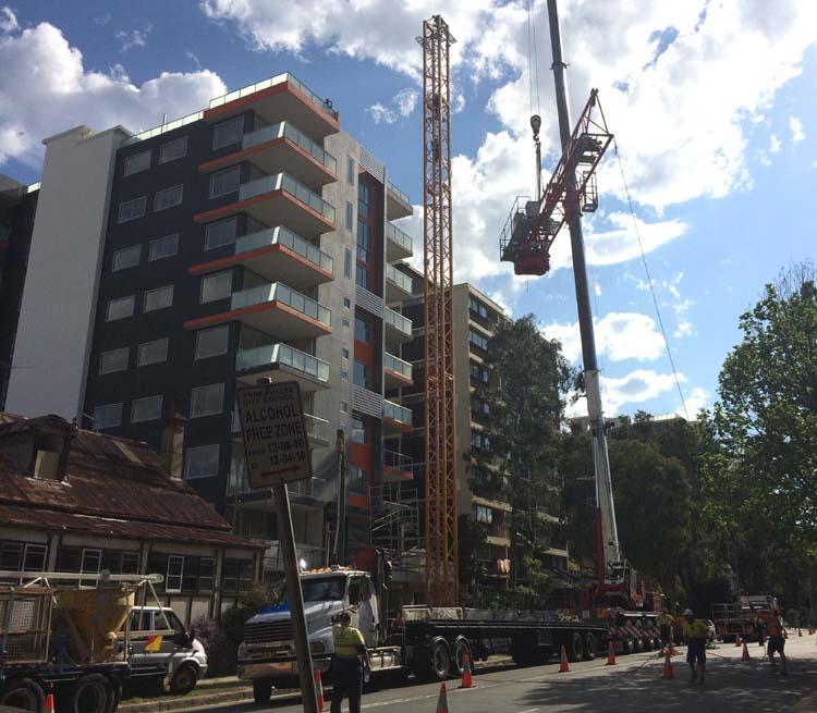 01 Construction Activities in Parramatta Sydney Australia