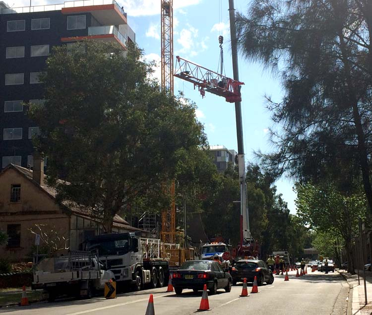 02 Construction Activities in Parramatta Sydney Australia