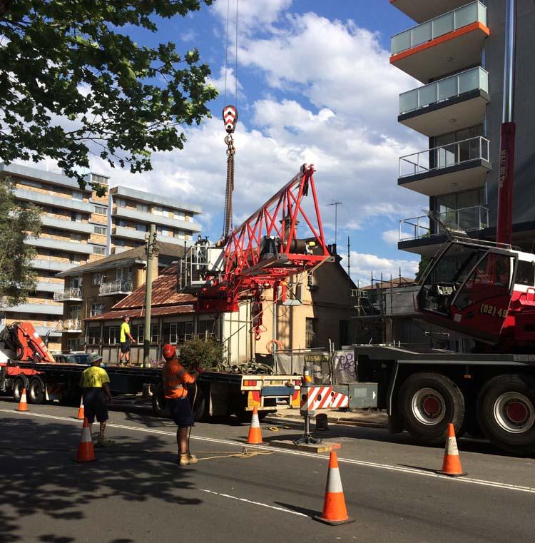 03 Construction Activities in Parramatta Sydney Australia
