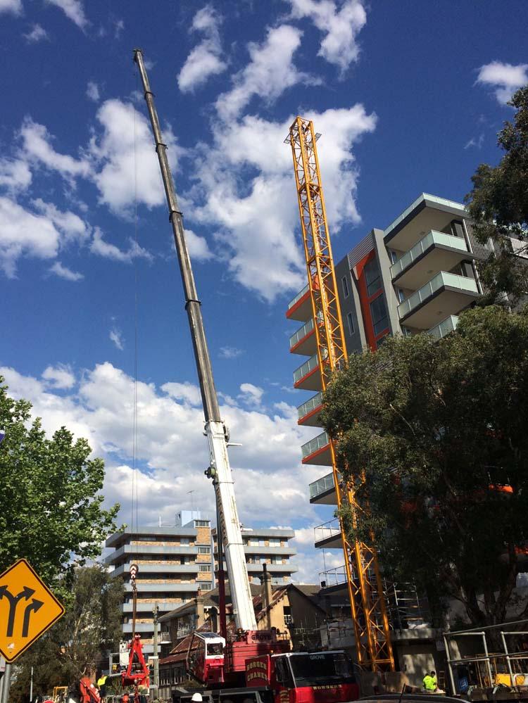 04 Construction Activities in Parramatta Sydney Australia